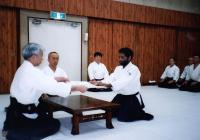 At the Hombu Dojo, Tokyo